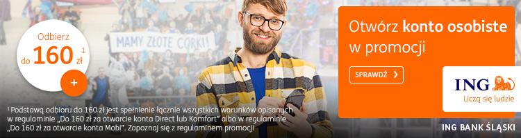 ing promocja 160 zł