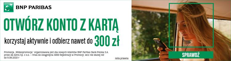 bnp wideo promocja 300 zł